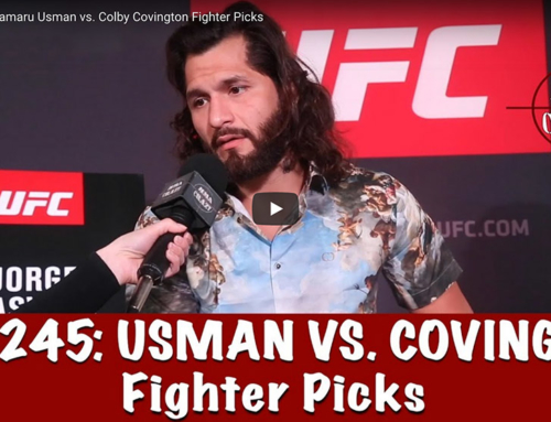UFC 245: Kamaru Usman vs. Colby Covington Fighter Picks