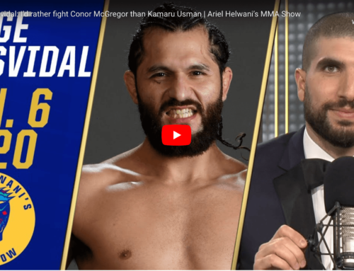Jorge Masvidal the Best UFC Fighter of the Year 2019