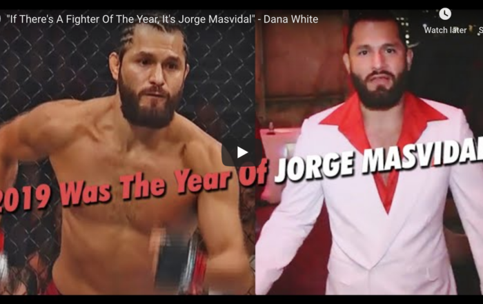 UFC Fighter of the Year 2019